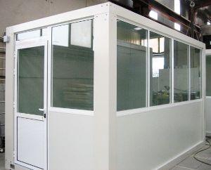 Modular glazed shelter