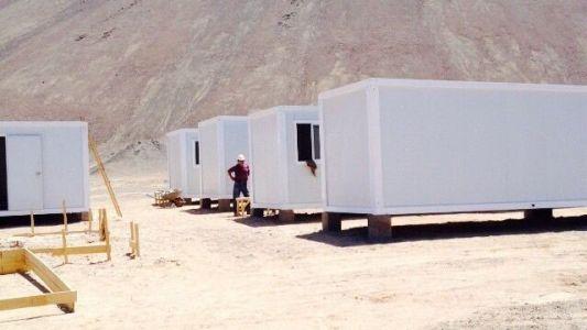 bungalow en kit pour base vie de chantier