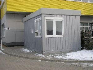Modular reception, sale or post sentry box